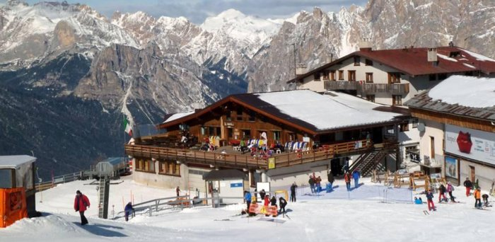 Tour to Faloria Refuge chalet